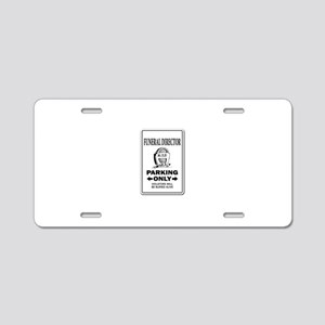 Funeral Director Aluminum License Plate