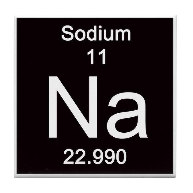 Periodic table sodium gifts merchandise periodic table sodium 11 sodium tile coaster urtaz Images