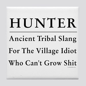 Hunter Tile Coaster