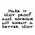 Make it idiot proof - Postcards (Package of 8)