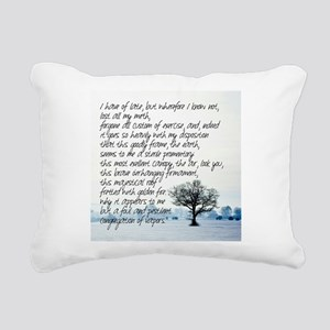 Sterile Promentory Rectangular Canvas Pillow