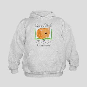 Cute Cats and Book Sweatshirt