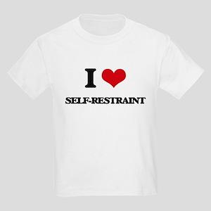 I Love Self-Restraint T-Shirt
