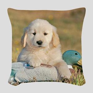 Future Champion  Woven Throw Pillow