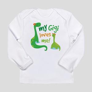 Gigi Loves Me Long Sleeve Infant T-Shirt