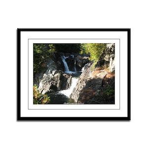 Split Rock Falls 1 Framed Panel Print
