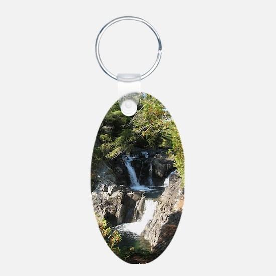 Split Rock Falls 2 Keychains