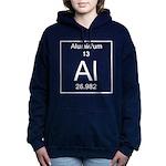 13. Aluminium Women's Hooded Sweatshirt