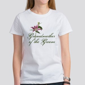 Grandmother of the Groom Women's T-Shirt