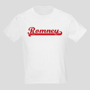 Romney (retro-sport-red) Kids Light T-Shirt