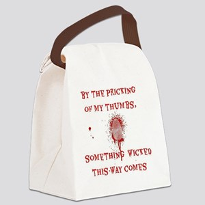 Something Wicked Canvas Lunch Bag