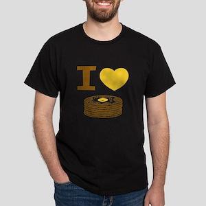 I Love Pancakes Dark T-Shirt