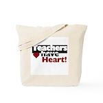 Teachers Have Heart Tote Bag