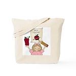Best Teacher (girl) Tote Bag