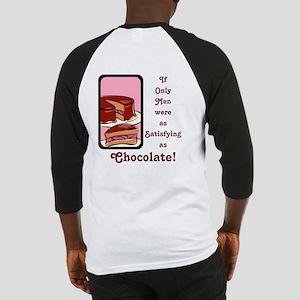 Mmm Chocolate... Baseball Jersey