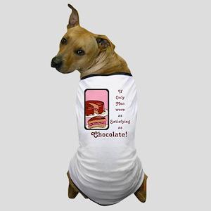 Mmm Chocolate... Dog T-Shirt