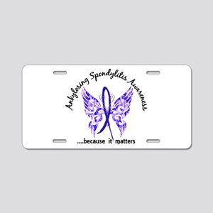 AS Butterfly 6.1 Aluminum License Plate