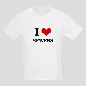 I Love Sewers T-Shirt