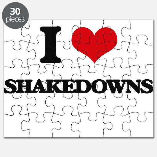 I Love Shakedowns Puzzle