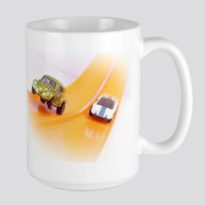 Toy Cars In Action Large Mug Mugs