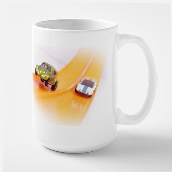 Toy Cars In Action Large Mug Mugs