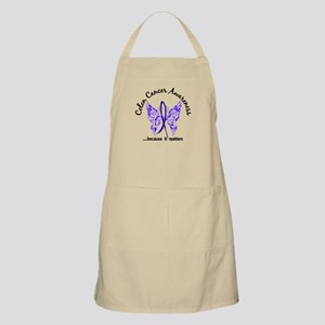 Colon Cancer Butterfly 6.1 Apron