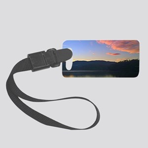 Lake Junaluska Sunrise II Small Luggage Tag