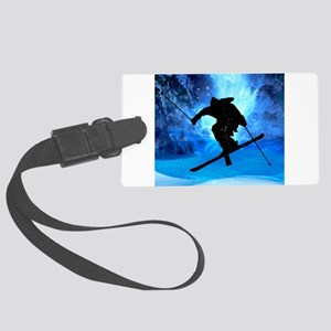 Winter Landscape and Freestyle S Large Luggage Tag