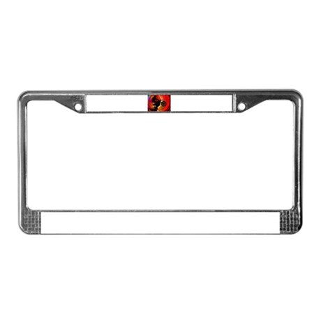 Motocross Light Streaks in a W License Plate Frame by Admin_CP51336015