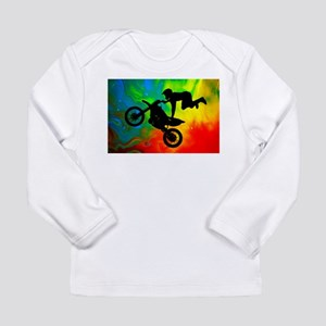 Solar Flare Up Motocross Long Sleeve T-Shirt