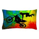 Dirt bike Pillow Cases