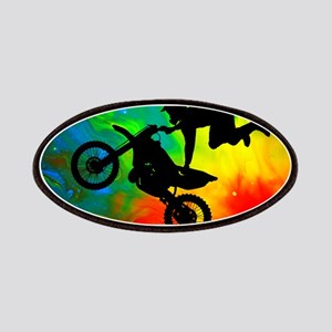Solar Flare Up Motocross Patches