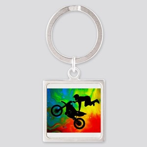 Solar Flare Up Motocross Keychains