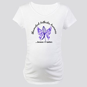 RA Butterfly 6.1 Maternity T-Shirt