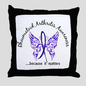 RA Butterfly 6.1 Throw Pillow