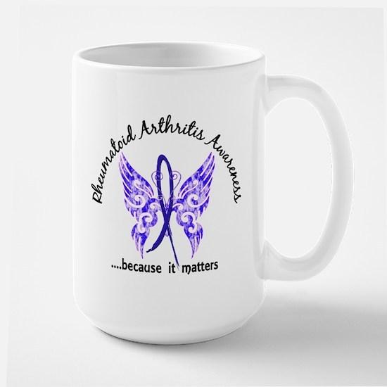 RA Butterfly 6.1 Large Mug