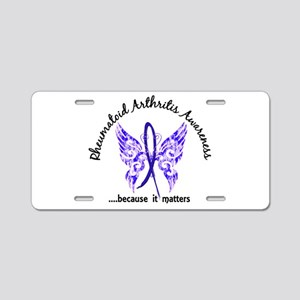 RA Butterfly 6.1 Aluminum License Plate