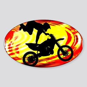 Explosive Motocross Jump Sticker