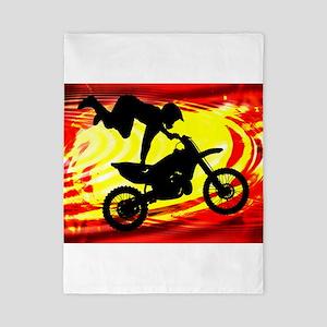 Explosive Motocross Jump Twin Duvet