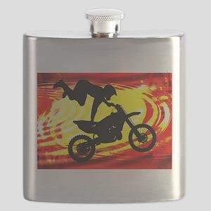 Explosive Motocross Jump Flask