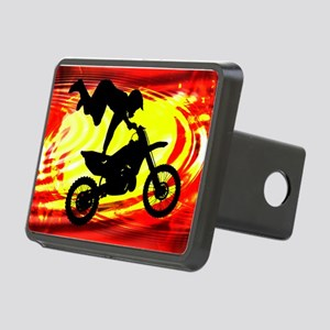 Explosive Motocross Jump.p Rectangular Hitch Cover
