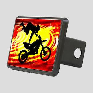 Explosive Motocross Jump.p Rectangular Hitch Cover