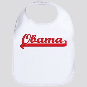 Obama (retro-sport-red) Bib