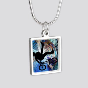 BMX in a Grunge Tunnel Necklaces