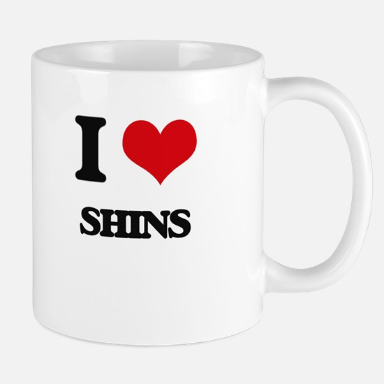 I Love Shins Mugs