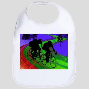 Cycling Trio on Ribbon Road Bib