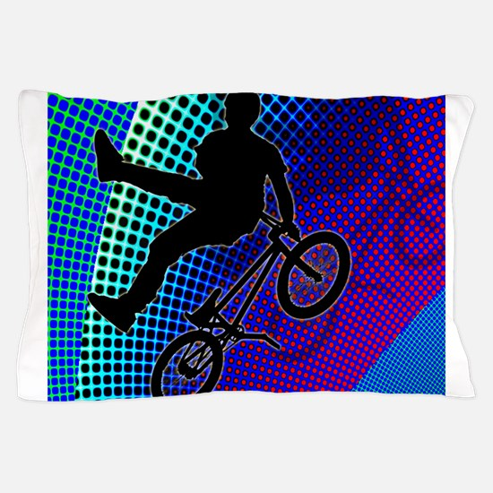 BMX in Fractal Movie Marquee.png Pillow Case