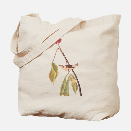 Louisiana Water Thrush Tote Bag
