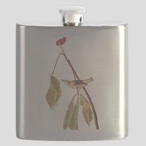 Louisiana Water Thrush Flask
