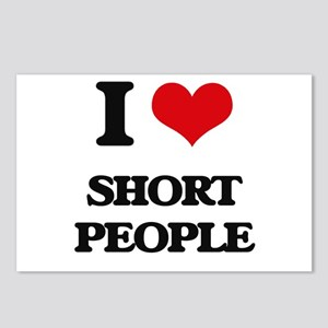 I Love Short People Postcards (Package of 8)